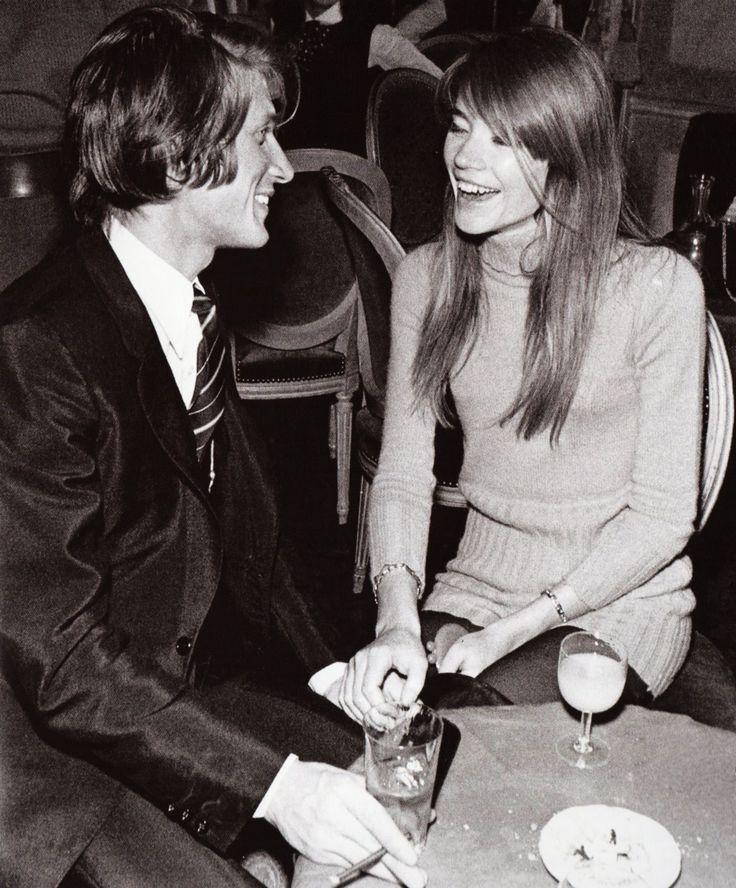 <3 Jacques Dutronc and Françoise Hardy
