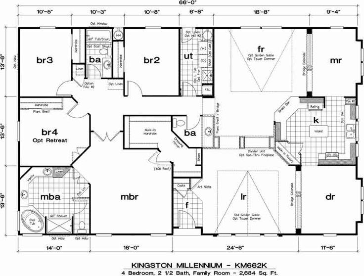 Golden West Kingston Millennium Floor Plans