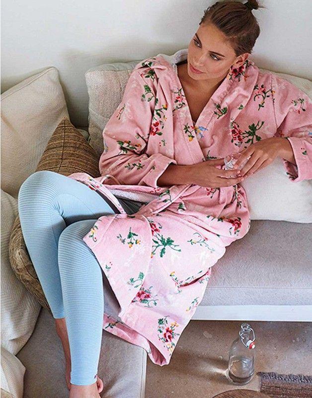Pip Studio badjas Granny Pip Roze | Luxe badjas | Katoen  #pip studio #badjas #badkamer #badgoed