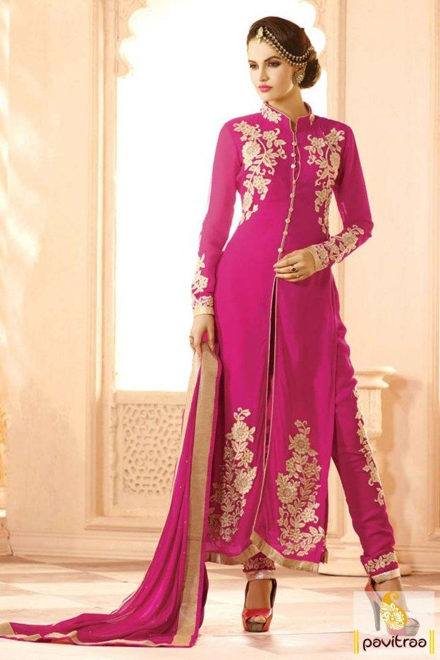187 Best Pretty In Pink Colour Sarees Salwar Suits