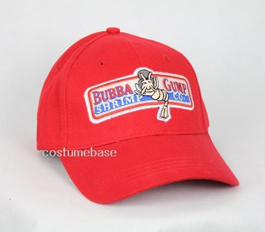 1994 BUBBA GUMP SHRIMP CO. Baseball Cap Embroidered Hat Forrest Gump Costume New | eBay