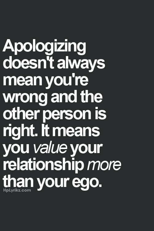 But its too late to apologize...