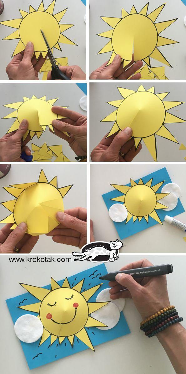 Preschool Solar Art Event