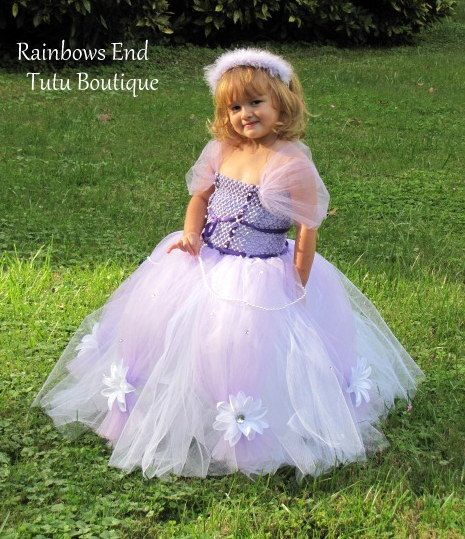 Sofia the First Tutu Dress by whererainbowsend1,