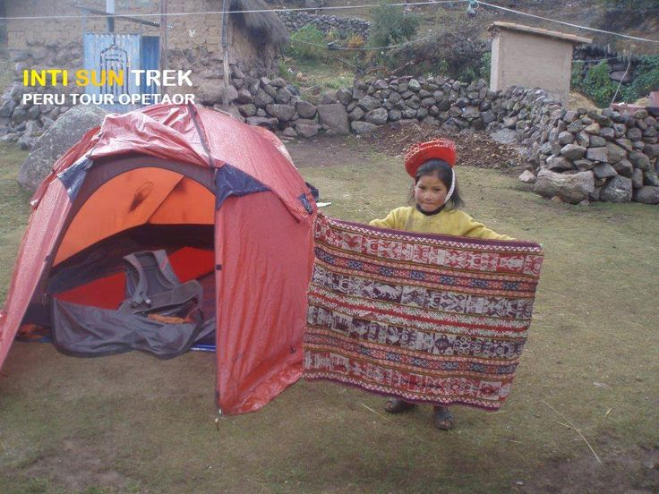 One of our camps in Lares Trek