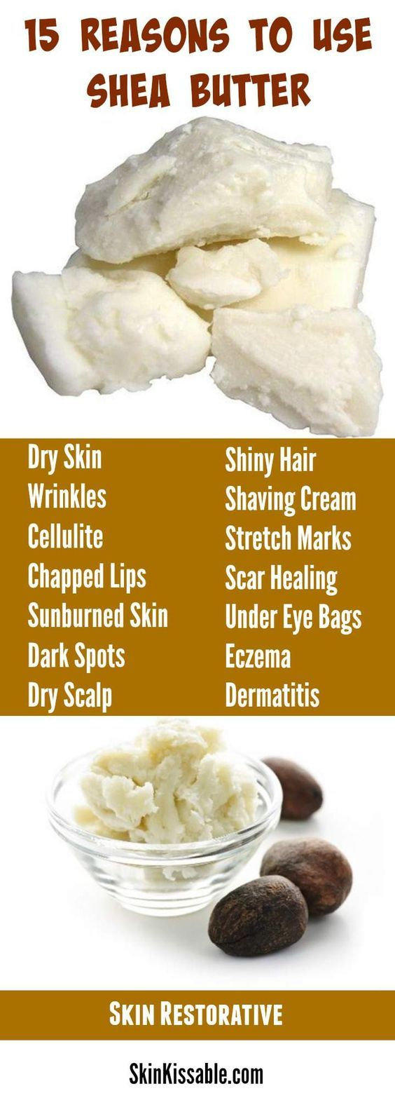 Shea butter is a natural ingredient with benefits …
