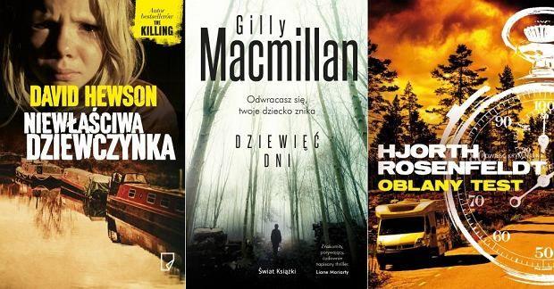 Kryminały na lato - okładki książek