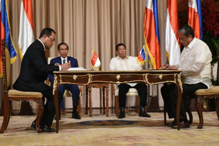 Hasil gambar untuk Presiden Joko Widodo dan Presiden Duterte Bangun Konektivitas Dengan Resmikan Layanan Ro-Ro Davao-Bitung