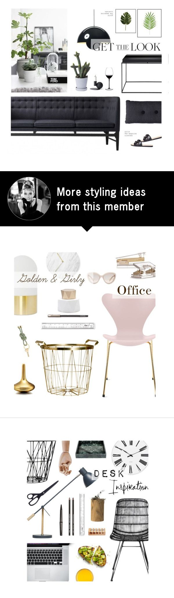 Home 42 By Line Kaasgaard On Polyvore Featuring Interior