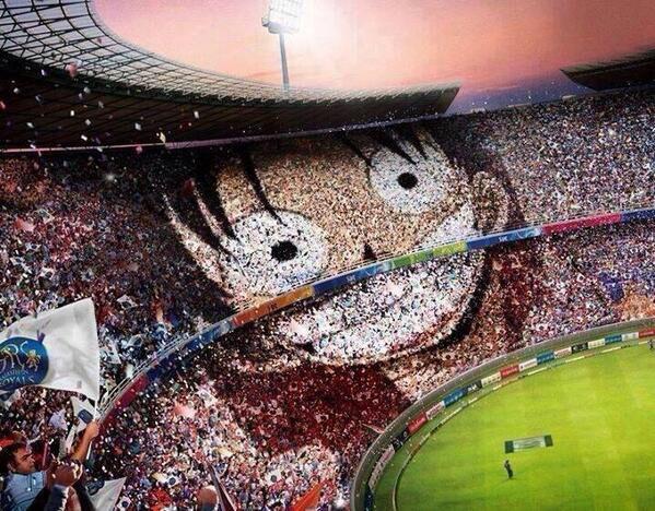 Best stadio ever! #onepiece