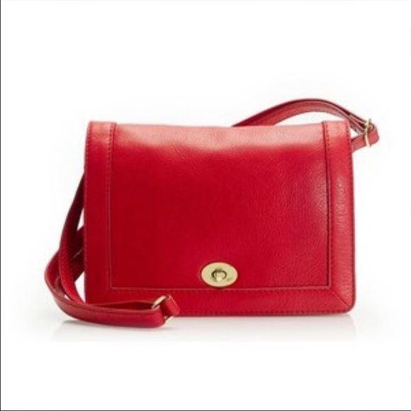 SALE J.crew red Tillary purse Only used once or twice. Shoulder strap is removable and adjustable so it can be used as a clutch, crossbody or shoulder bag. Turnlock closure. Two compartments divided by s zippered pocket and a slip pocket in back compartment. Comes with the dustbag. No trades! J. Crew Bags Crossbody Bags