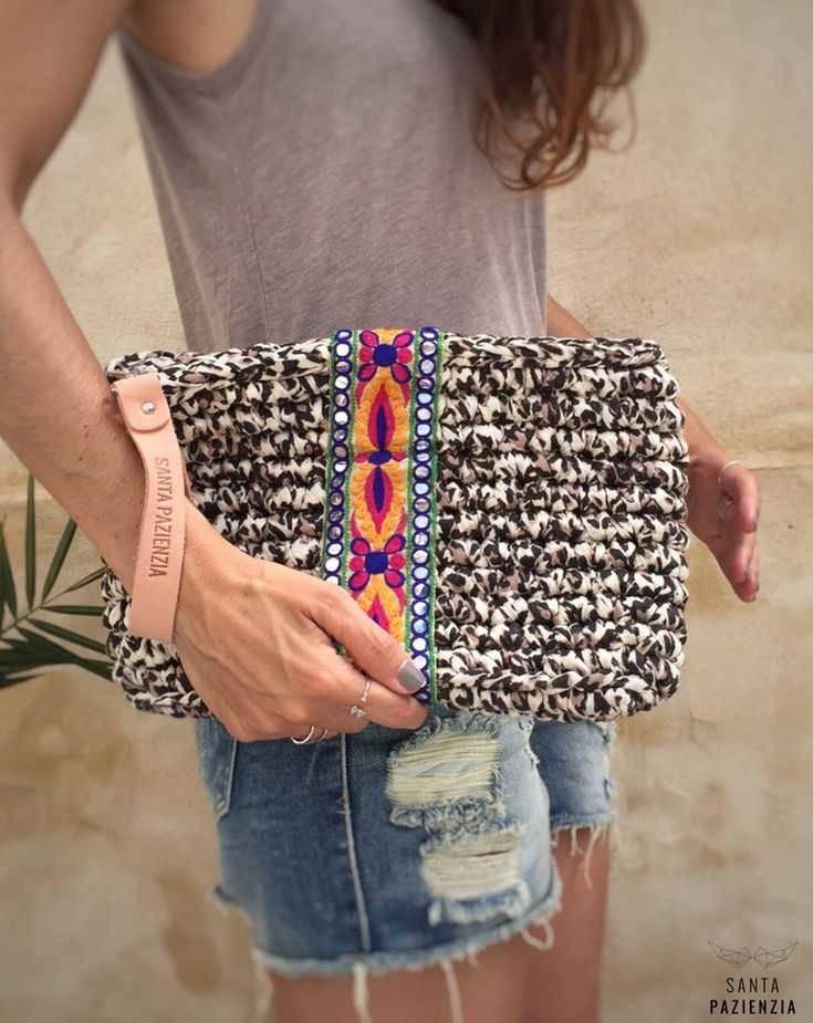 Image of Clutch Print Indi trapillo