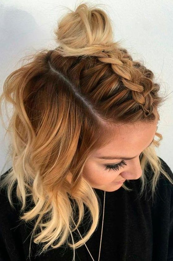 Short Layered Hairstyles From year to year, a short hairstyle is traditionally topped by the lists of the most popular female haircuts. In the 2019 season, a short square remains one of the most fashionable and sought-after haircuts. Modern haircut has many variations and is suitable for girls and women of any age and