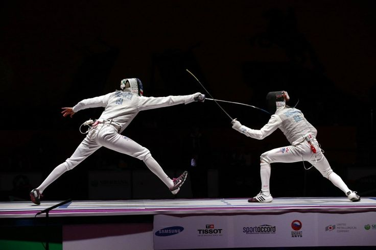 Men's foil at the World Combat Games