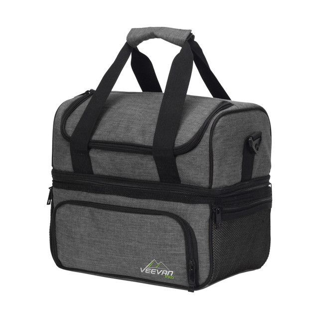 Insulated Lunch Cooler Bags For Food Family Function Waterproof Picnic Bag Large Storage Shoulder Bag Tote Messenger Bags