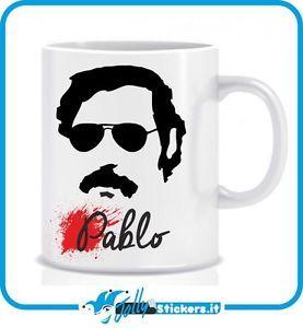 Tazza Pablo Escobar Plata o Plomo Narcos TZ004   eBay