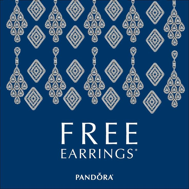 PANDORA Jewellery invites you to play with possibility at the October Earring Event! Starting October 26-29 receive a FREE pair of PANDORA earrings (value of $60) with your purchase of $150 or more. Receive a FREE PANDORA Jewellery box with earrings valued at $65 or more. See store for additional details. #pearhome #DoPandora