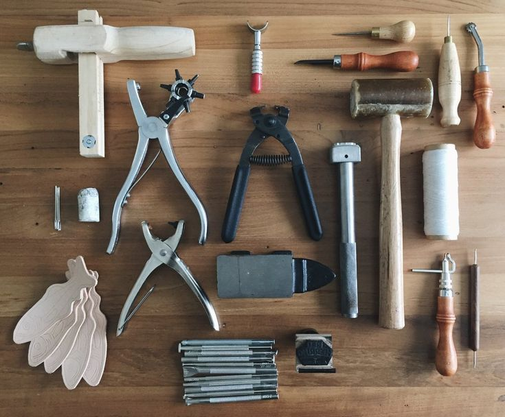 Studio Visit with Red Herring Supply Co. leather working tools