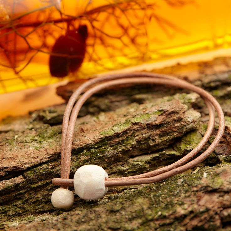 Leather Bracelet For Mother and Baby, Unique, Natural Jewelry, with Wooden Beads from the same year when you and your loved ones were born. by MsHeartwoodJewellery on Etsy