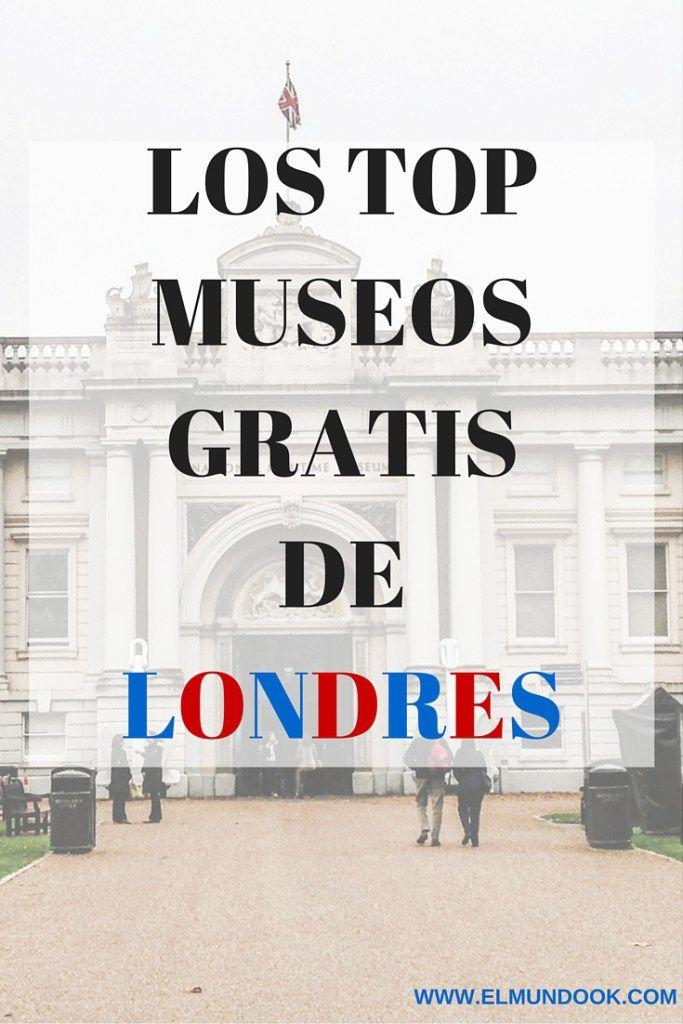 Top Gratis Museos de Londres  Los museos de #Londres son las atracciones a ver cada año, muchos de los cuales puedes acceder gratuitamente, excepto para especiales exhibiciones.