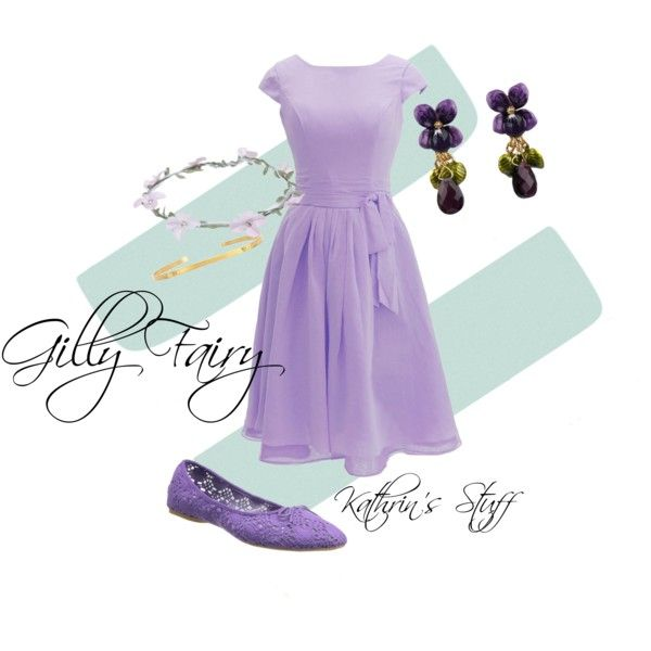 Gilly Fairy by kathrinstuff on Polyvore featuring Nine West, Les Néréides, Maria Black and Wet Seal