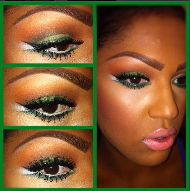 How To Apply Bridal Makeup For Black Skin : Makeup dark skin=> http://pakifashion.com/makeup-dark-skin ...