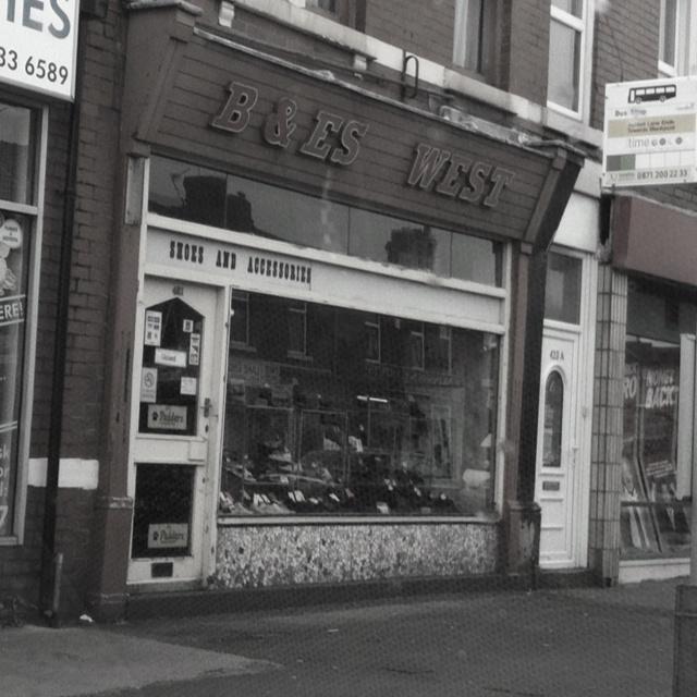 Unchanged since the 1960's. Nostalgic shoe shop