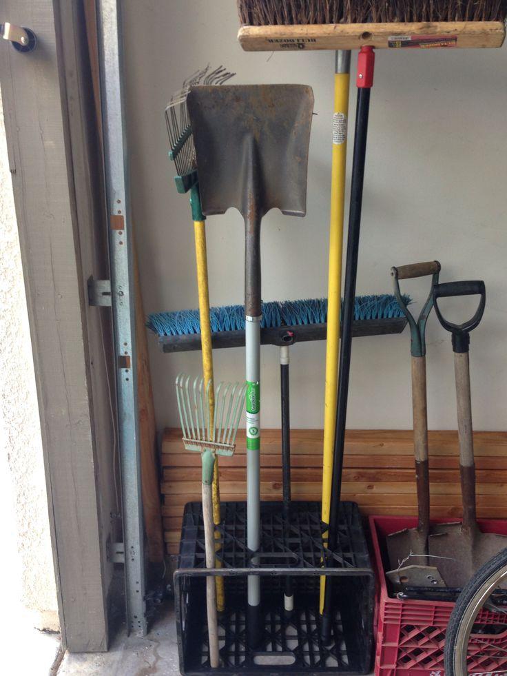 Yard tool storage  tool storage  Garage Storage Yard