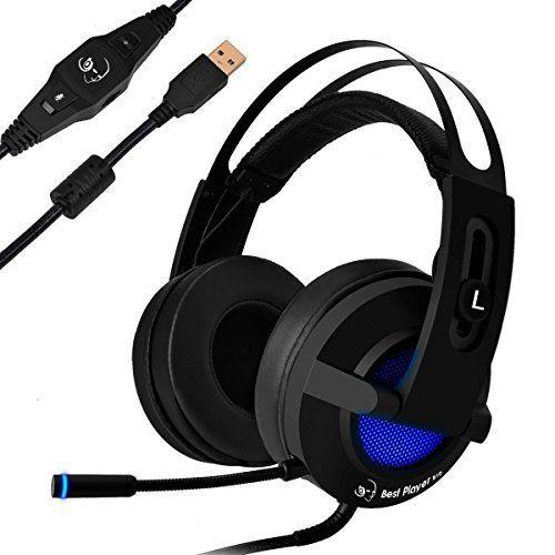RedHoney 7.1 Surround Sound Stereo LED Games Headphone  RedHoney 7.1 Surround Sound Stereo LED Games Headphone-B071G2VVZ3-33-164  Expires Sep 30 2017