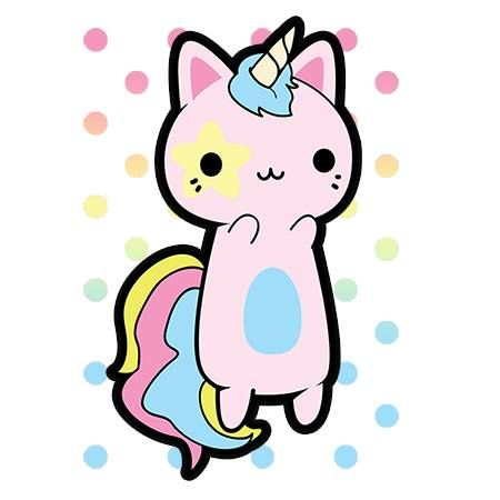 Ohmygosh a cat-unicorn!! Becca look!! :O