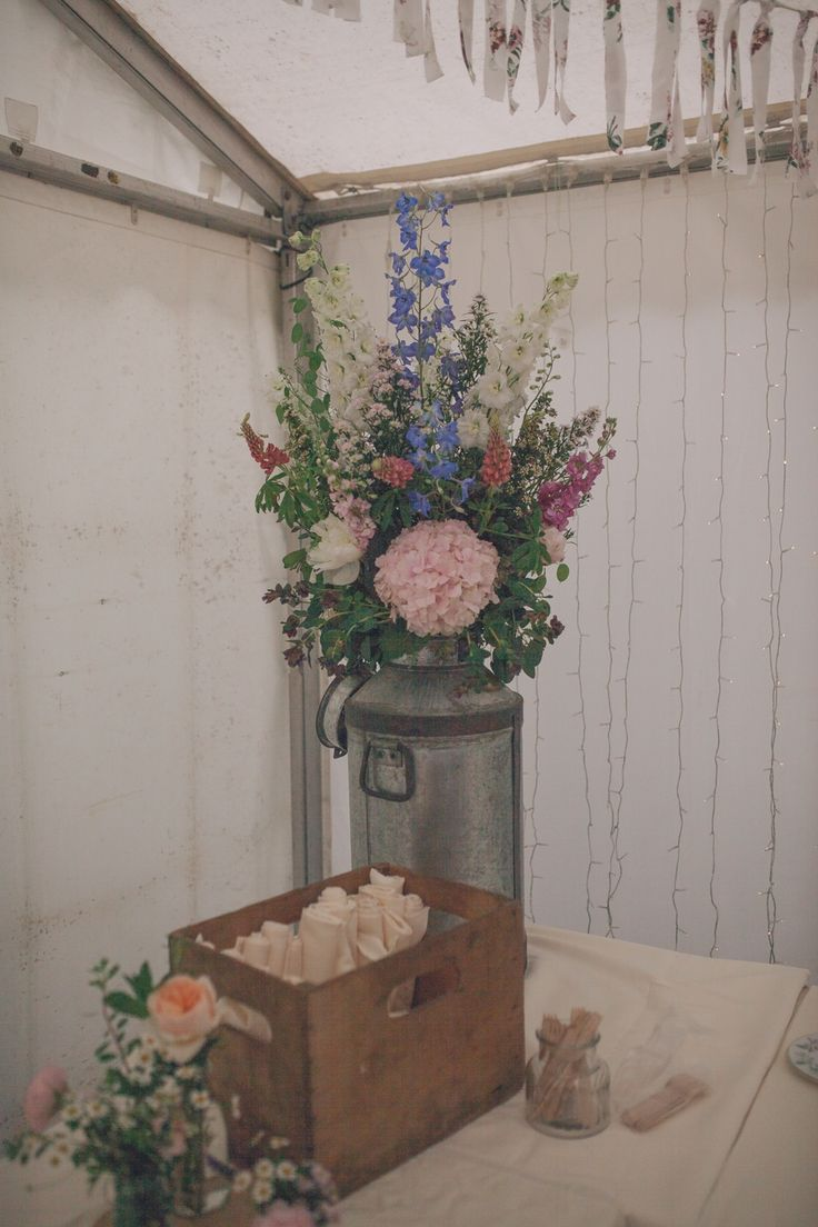 A Charmingly Mismatched, Vintage Inspired Village Hall Wedding | Love My Dress® UK Wedding Blog