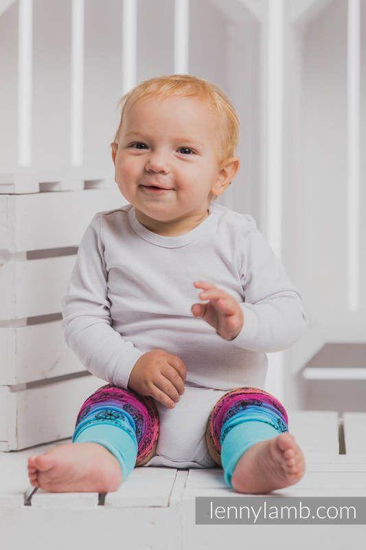 LennyLegs Long - baby leg warmers - RAINBOW LACE DARK #babywearing LennyLegs Long - baby leg warmers - RAINBOW LACE DARK #babywearing LENNYLEGS LONG - BABY LEG WARMERS - RAINBOW LACE DARK