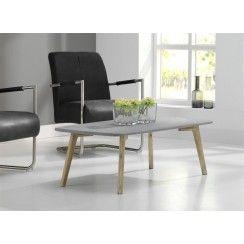 Udby salontafel grijs graniet/acacia 120x60 cm
