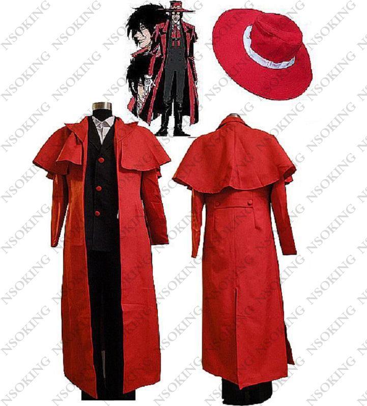Anime Hellsing Alucard Cosplay Costume Customized #Affiliate