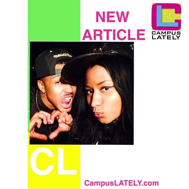 #AugustAlsina ft #Nicki Minaj -'No Love' ➡️check it out on the site [clickable link in bio] #campuslately