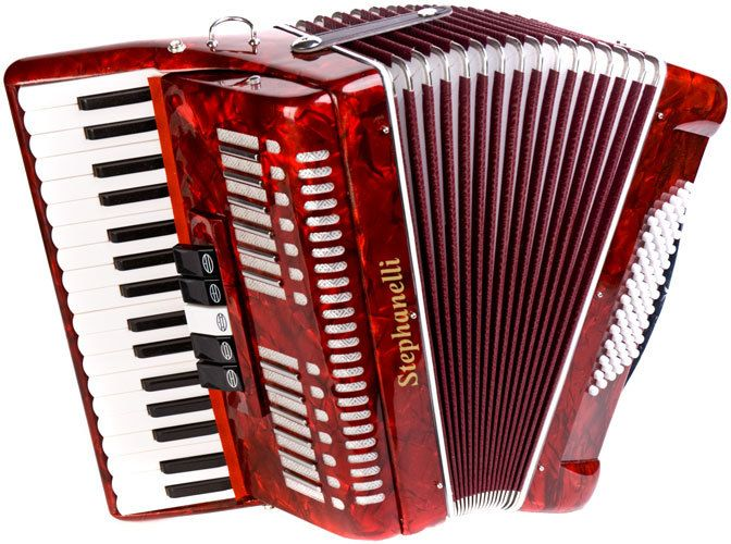 piano accordion how to play