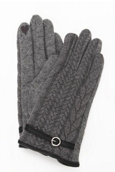 キルティンググローブ  キルティンググローブ 2916 レディな雰囲気の生地感がポイント ノーカラーコートやジャケットに合わせて プレゼントにもおすすめです