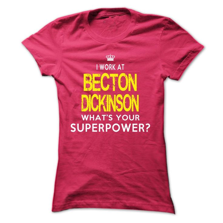 (Males's T-Shirt) Do you work at Becton Dickinson? This hoodie is must have! - Buy Now...
