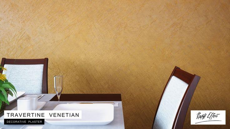 Zestaw do efektu dekoracyjnego - Cameleo - Trawertyn Wenecki - surowy - 3,5 m2