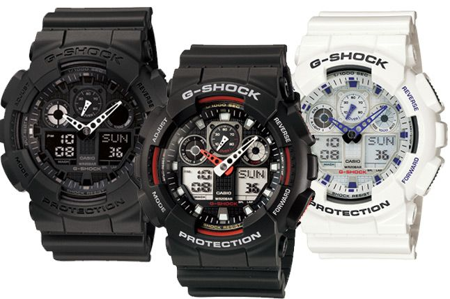 A 10-year battery life, 10-bar water resistant and 10-meter dropping shock resistance. These were the three requirements of the concept G-Shock by Casio that led to development the shock-resistant structure.