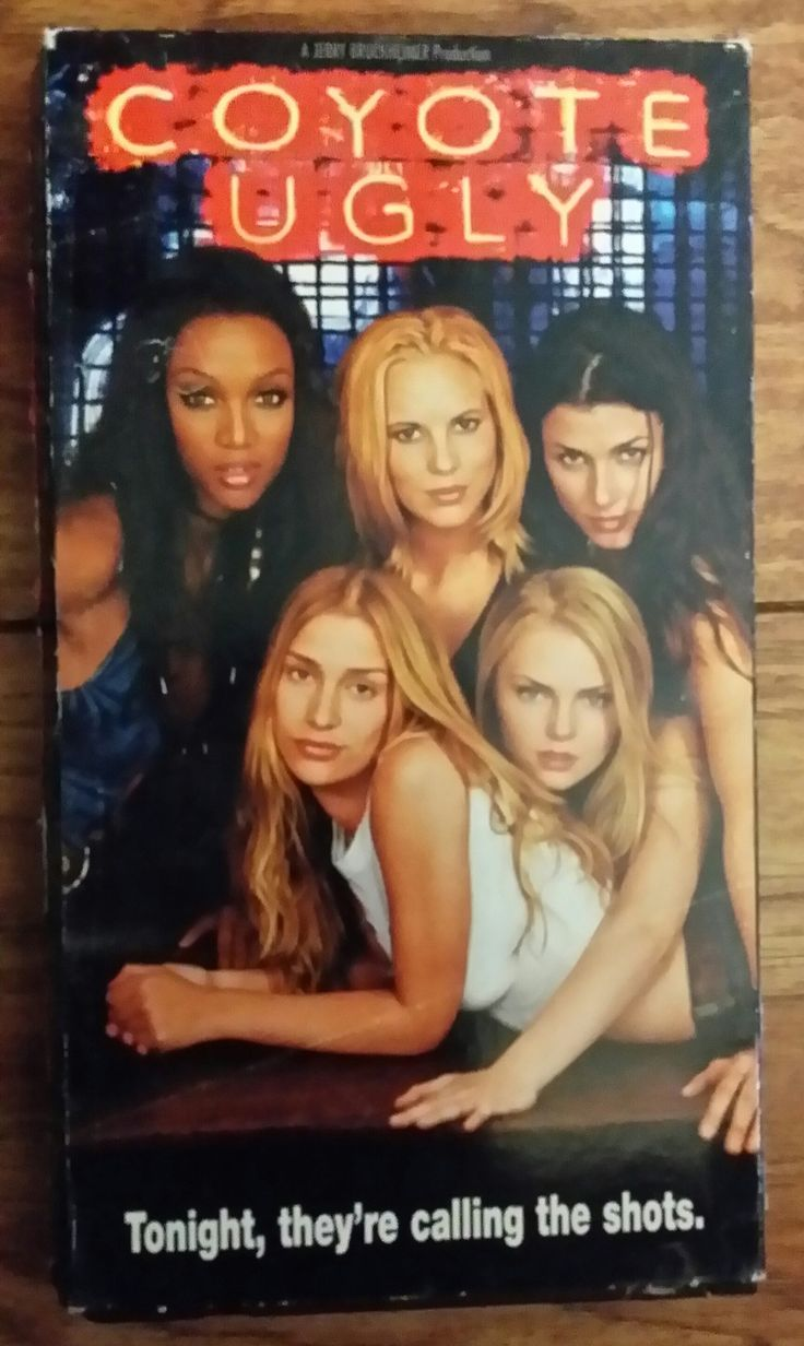vhs coyote ugly back in the good ole days