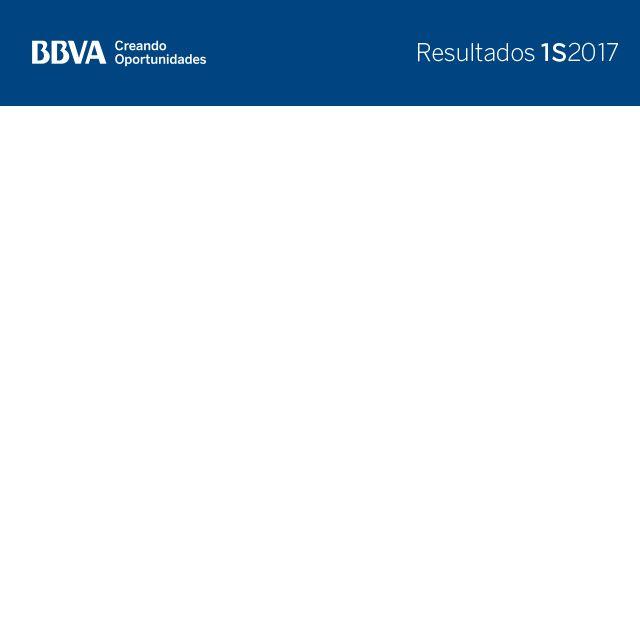 Resultados BBVA 2T17 - Tasa de mora, tasa de cobertura, ratio de apalancamiento - Ratio CET 1