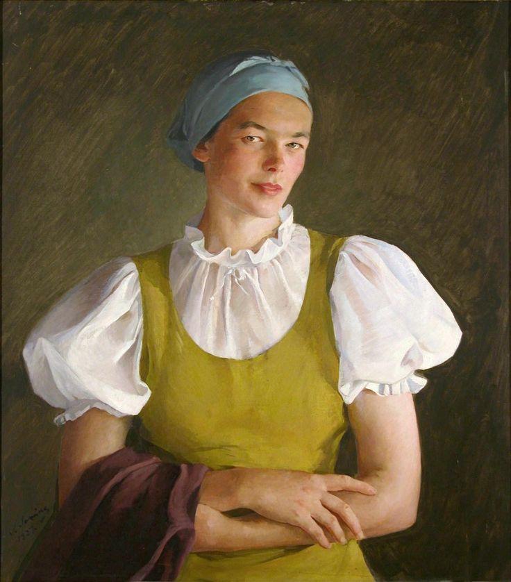 Савелий Сорин - Все интересное в искусстве и не только. Казачка. Ностальгическая работа.
