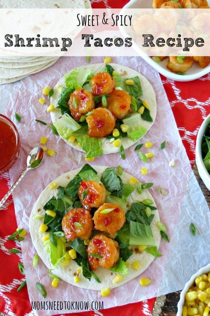 sweet and spicy shrimp tacos spicy shrimp tacos shrimp taco recipes ...