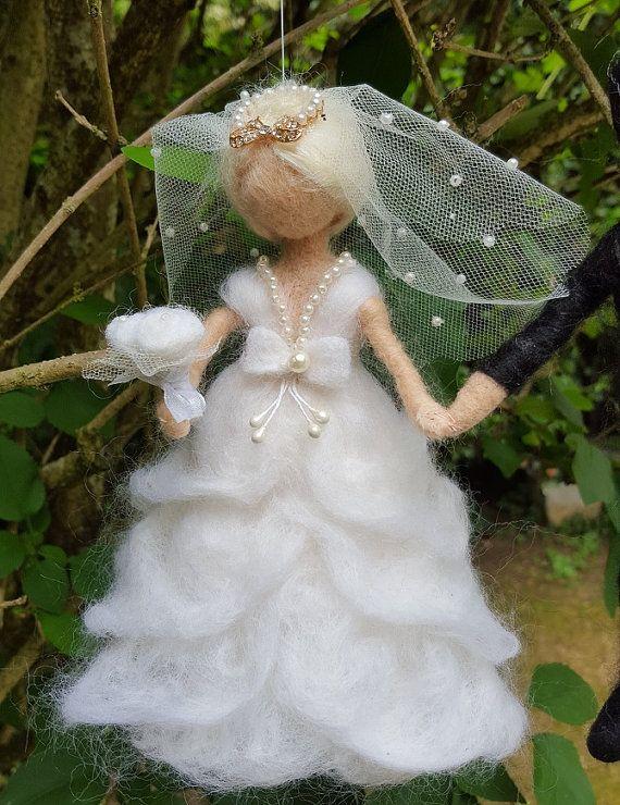 Needle felting wedding