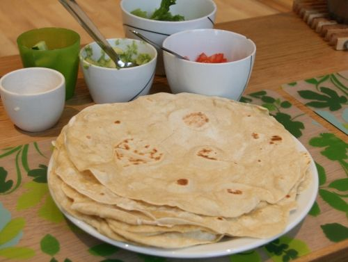 Tortillalefser til chili con carne