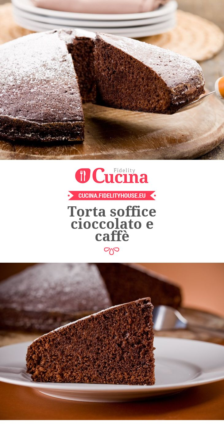 Torta soffice cioccolato e caffè