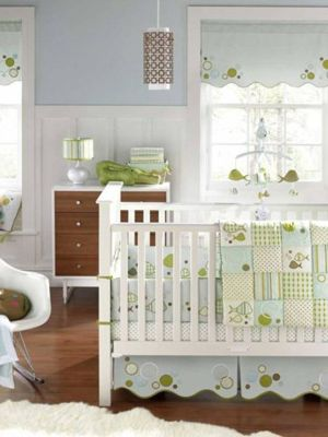 Splash 6 Piece Baby Crib Bedding Set by MiGi:Amazon:Baby
