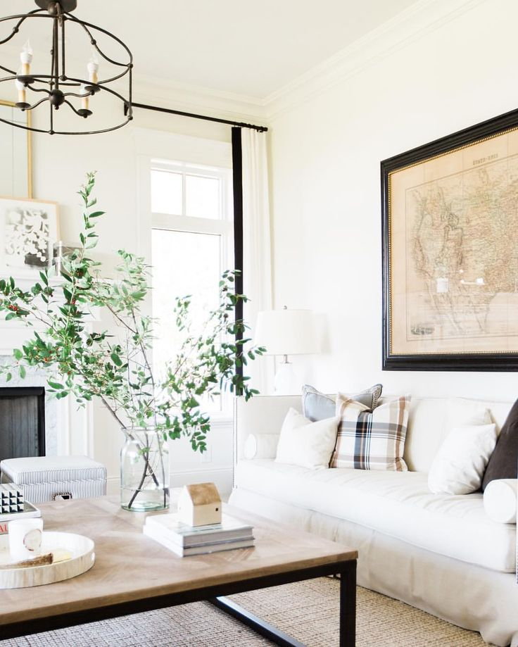 Love The White Walls And Black Accents. See This Instagram Photo By  @studiomcgee U2022