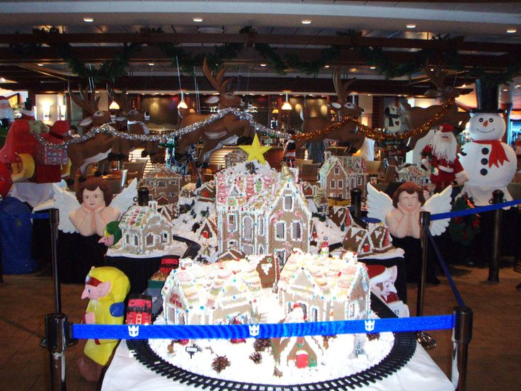 Christmas cruises, Gingerbread houses and Caribbean on Pinterest
